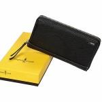 """Бумажник-портмоне """"Gianni Conti"""", коллекция DEER leather, черный"""