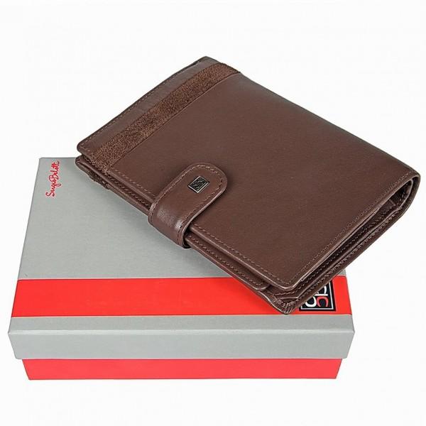 """Бумажник с обложкой для паспорта """"Sergio Belotti"""""""