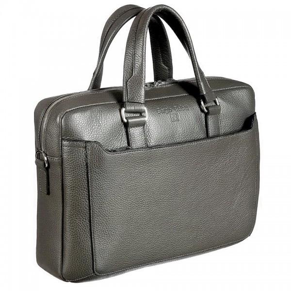 "Бизнес-сумка ""Sergio Belotti"", светло-коричневая, Италия"