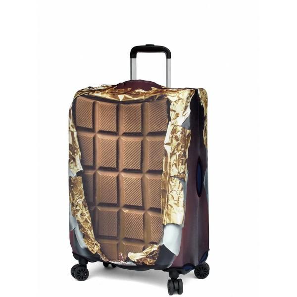 "Чехол для чемодана ""Gianni Conti"", сладкоежка, размер L"