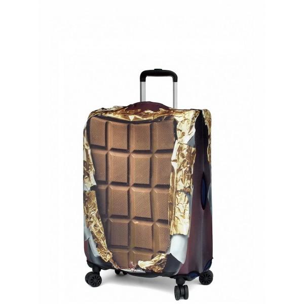 "Чехол для чемодана ""Gianni Conti"", сладкоежка, размер M"