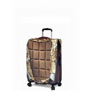 """Чехол для чемодана """"Gianni Conti"""", сладкоежка, размер S"""