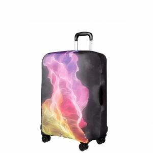 "Чехол для чемодана ""Gianni Conti"", розовый туман, размер M"