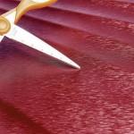 """Чемодан """"Verage"""", рубиново-красный, размер L (106/127л)"""