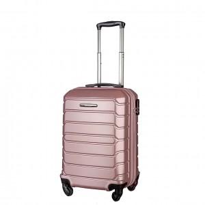 "Чемодан ""Gianni Conti"" CALANTHE, золотисто-розовый, размер S"