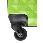 Чемодан L`case®️ PHATTHAYA, перламутровый зеленый, средний размер