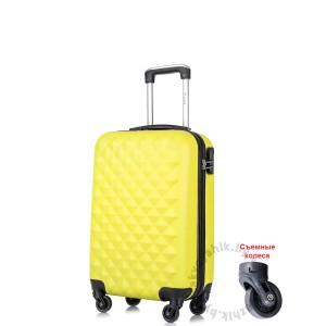 Чемодан L`case®️ PHATTHAYA, желтый, ручная кладь