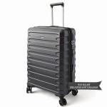 """Комплект чемоданов """"Verage"""" черный, размеры (S/M+)"""