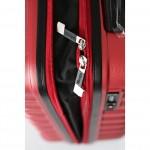 "Чемодан ""Verage"", цвет красный кардинал, размер M+ (78/95л)"