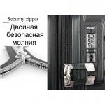"""Чемодан """"Verage"""" черный, размер S, ручная кладь (40/54л)"""