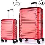 """Комплект чемоданов """"Verage"""" красный кардинал, размеры (S/XL)"""