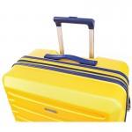 """Чемодан """"Verage"""" желтый, размер M+, средний+ (78/95л)"""