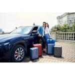 """Комплект чемоданов """"Verage"""" васильковый, размеры (S/M/L)"""
