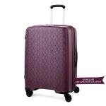 """Комплект чемоданов """"Verage"""" коллекция DIAMOND красный виноград, размеры (S/M+)"""