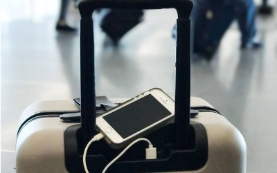 Отправляясь в путешествие, не забудьте чемодан.