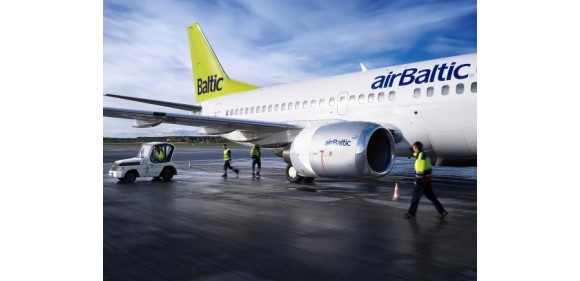 Авиакомпания airBaltic стартуют от 14 евро за полет в одну сторону