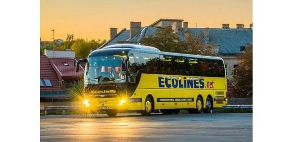 Автобусный перевозчик Ecolines продлил распродажу билетов из Варшавы в Прагу и Берлин