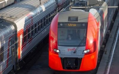 Скоростные поезда Ласточки из Минска в Москву