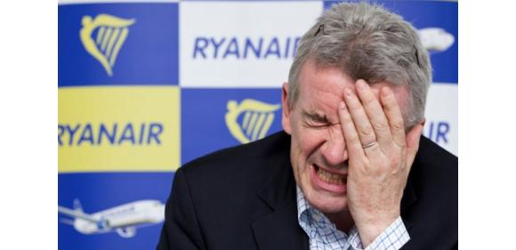 Ryanair отменяет 600 рейсов 25-26 июля