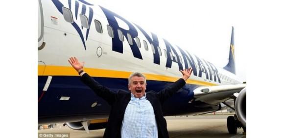 Ryanair: 1 000 000 билетов с июня по сентябрь со скидкой 20%
