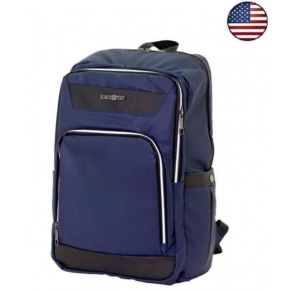Рюкзак Eberhart®️ Insight, темно-синий, полиуретан
