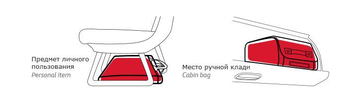 где разместить чемодан в самолете
